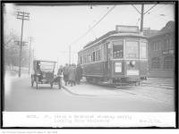 Historic photo from Thursday, November 6, 1924 - St Clair and Bathurst, showing safety loading, from boulevard in Forest Hill
