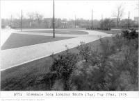 Historic photo from Friday, May 22, 1925 - Rosedale Loop looking south to Sherbourne Bridge, (Way Department) in Rosedale
