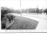 Historic photo from Friday, May 22, 1925 - Rosedale Loop on Sherbourne, looking north, (Way Department) in Rosedale