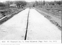 Historic photo from Thursday, September 10, 1925 - Mt Pleasant Rd, south, from Millwood - road construction in Davisville Village