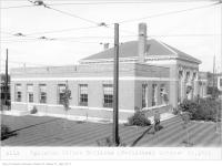 Historic photo from Thursday, October 15, 1925 - TTC Eglinton Division Office Building in Chaplin Estates