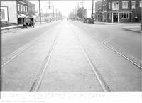 Historic photo from Tuesday, July 26, 1927 - Yonge St, north of Bedford Park Ave, 9:45 a.m. in Bedford Park