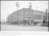 Historic photo from Thursday, November 3, 1927 - Palace Theatre at Danforth and Pape, north-east corner in The Danforth