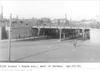 Historic photo from Saturday, April 23, 1932 - Subway - Royce Ave, east of Dundas in The Junction