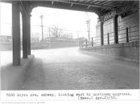 Historic photo from Monday, April 25, 1932 - Royce Ave subway, looking west, to northern approach in The Junction
