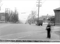 Historic photo from Monday, January 16, 1933 - Yonge St at Yonge Blvd - Case #4109 - M.B. Jones near McNairn in Teddington Park