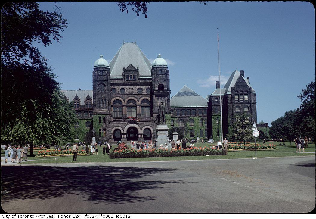 Queen's Park, September 1945, shot in Kodachrome