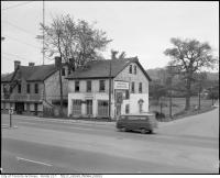 Historic photo from 1967 - Jolly Miller Tavern and York Mills Skating Rink on Yonge Street in Hoggs Hollow