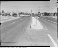 Historic photo from 1964 - Traffic survey in 1964 at Lawrence Avenue East at Leslie Street in Don Mills