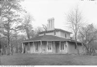Historic photo from 1912 - Colborne Lodge, High Park, southeast elevation in High Park