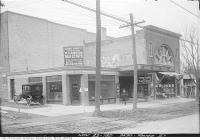 Historic photo from Tuesday, November 22, 1921 - Capitol Theatre at 2490 Yonge Street before the rest of the block was developed in North Toronto