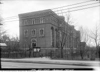 Historic photo from Thursday, April 25, 1929 - Original ROM building in 1929 in Royal Ontario Museum