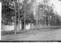 Historic photo from Friday, November 25, 1921 - Ellis Estate gates on Yonge Street at Bedford Park in Bedford Park