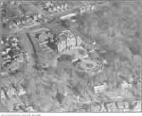 Historic photo from 1930 - Areal photo of Government House, Chorley Park in Don Valley Brickworks