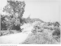 Historic photo from 1907 - Mill Street looking east near Yonge Street, York Mills in Hoggs Hollow