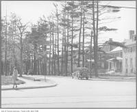 Historic photo from 1926 - Glengrove Ave just west of Yonge Street in Lytton Park