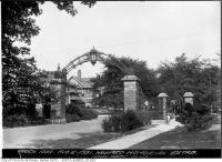 Historic photo from Thursday, August 6, 1931 - Howard Memorial Gates in High Park